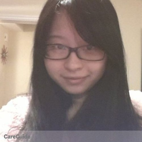 Canadian Nanny Provider Ruby Jin's Profile Picture
