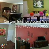 Custom Painting from Businesses to Baby Nurserys, Man Caves , Home Interior and Accent Walls.