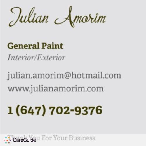 Painter Provider Julian A's Profile Picture