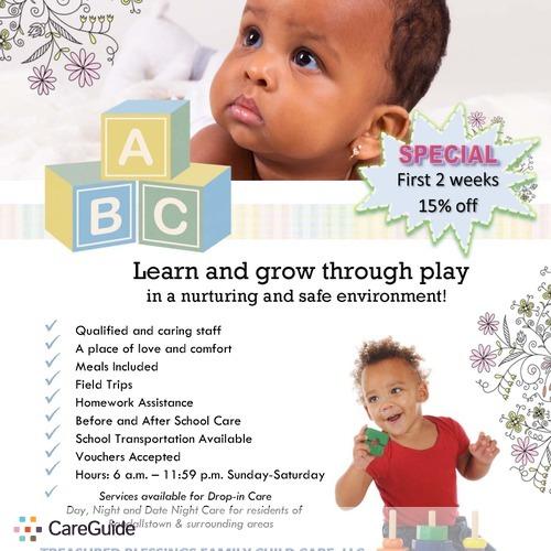 Child Care Provider Timeka Paige's Profile Picture