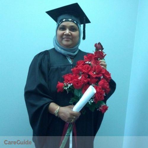 Canadian Nanny Provider Sithy Razick's Profile Picture