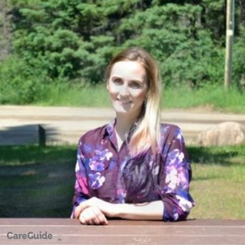 Canadian Nanny Provider Raelee Middlebrook's Profile Picture