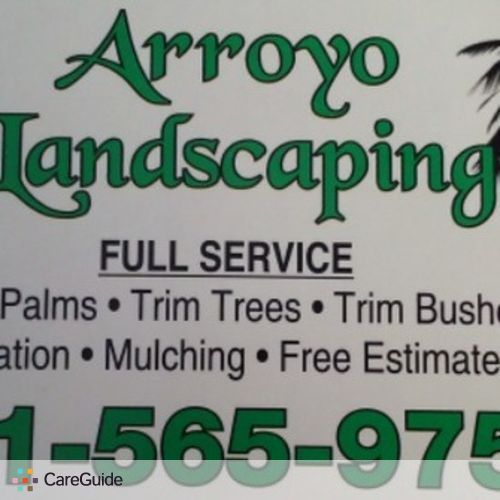 Landscaper Job Artemio Arroyo's Profile Picture