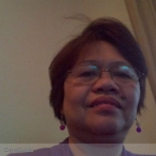 Canadian Nanny Provider Girlie Alejandro's Profile Picture