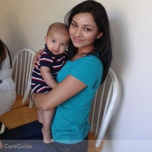 Canadian Nanny Provider Amanpreet K's Profile Picture
