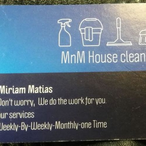 Housekeeper Provider Miriam M's Profile Picture