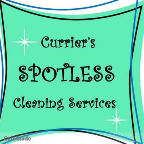 Housekeeper Provider Currier's Spotless Cleaning Currier's Profile Picture