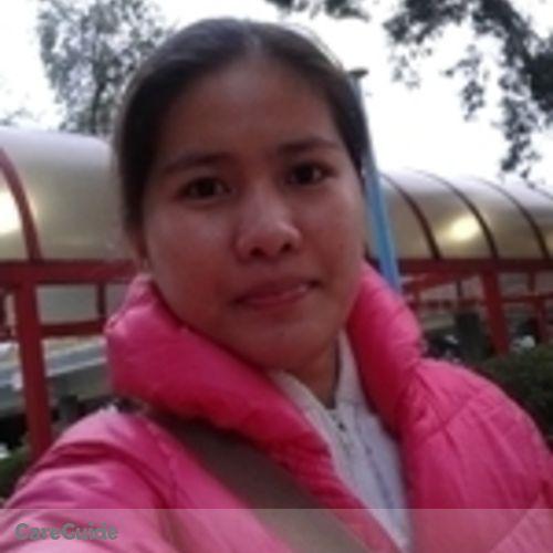 Canadian Nanny Provider Marivic G's Profile Picture