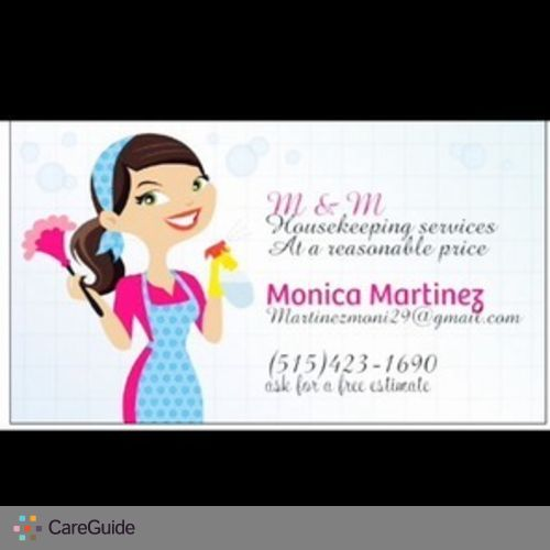 Housekeeper Provider Monica Martinez's Profile Picture