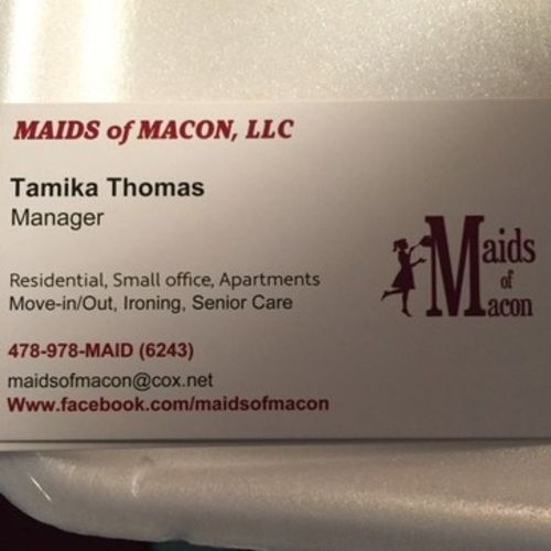 Housekeeper Provider Tamika T's Profile Picture
