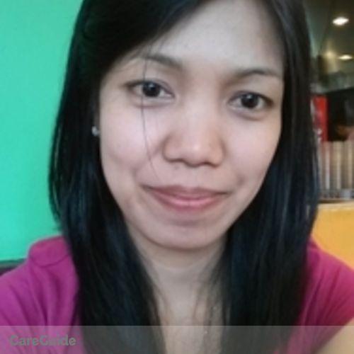 Canadian Nanny Provider Efrelyn Esposo's Profile Picture