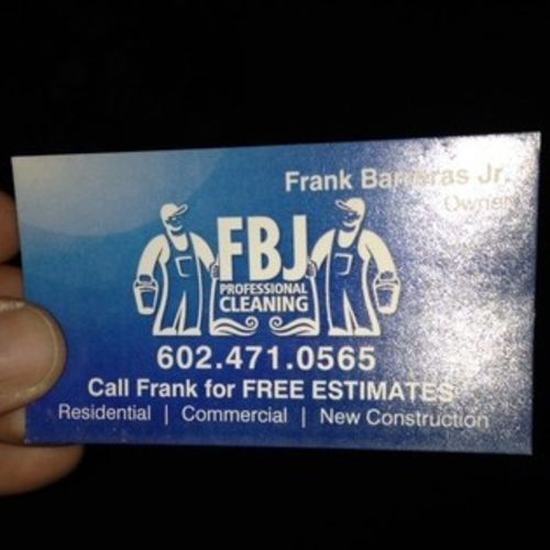 Housekeeper Provider Frank B's Profile Picture