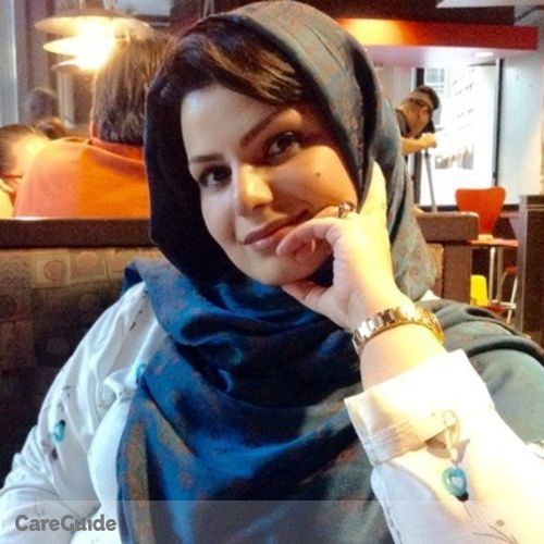 Canadian Nanny Provider Narges Kharazmi's Profile Picture