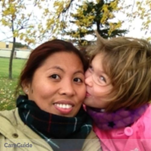 Canadian Nanny Provider Ana 's Profile Picture