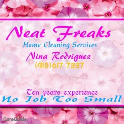 Housekeeper Provider Nina Rodriguez's Profile Picture