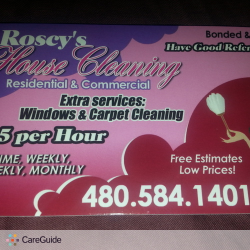 Housekeeper Provider Rosa Corral's Profile Picture