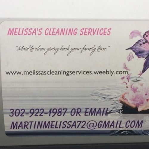 Housekeeper Provider Melissa Martin's Profile Picture