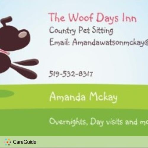 Pet Care Provider Amanda Mckay's Profile Picture