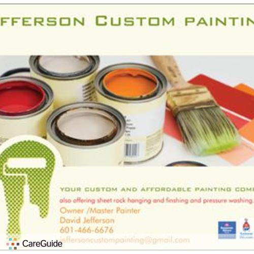 Painter Provider David Jefferson's Profile Picture