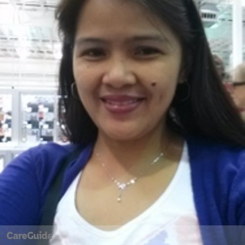 Canadian Nanny Provider Cheryl Pareja's Profile Picture
