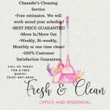 I offer great cleaning service, with years of experience & affordable prices!weekly, bi-weekly, monthly