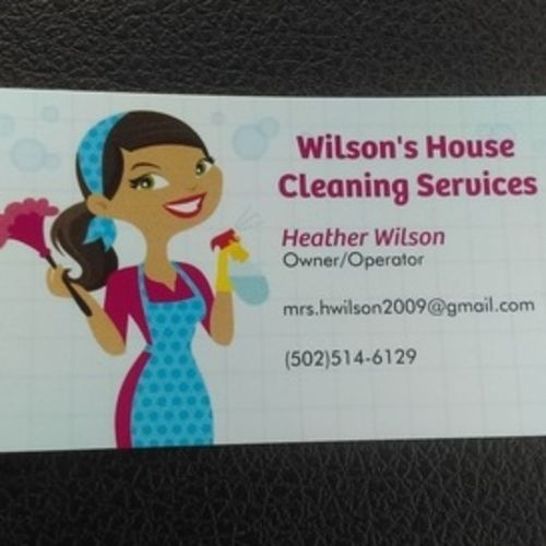Housekeeper Provider Heather Wilson's Profile Picture