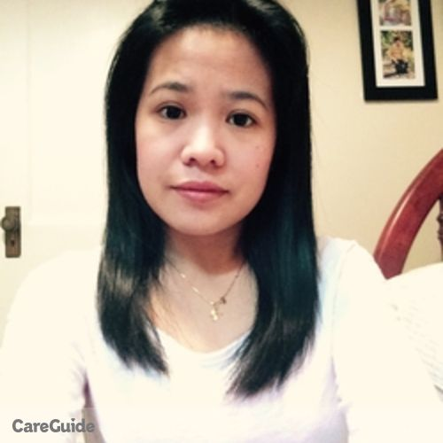 Canadian Nanny Provider Arceli Gacayan's Profile Picture