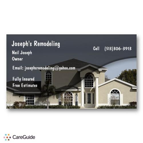 Handyman Provider Neil Joseph's Profile Picture