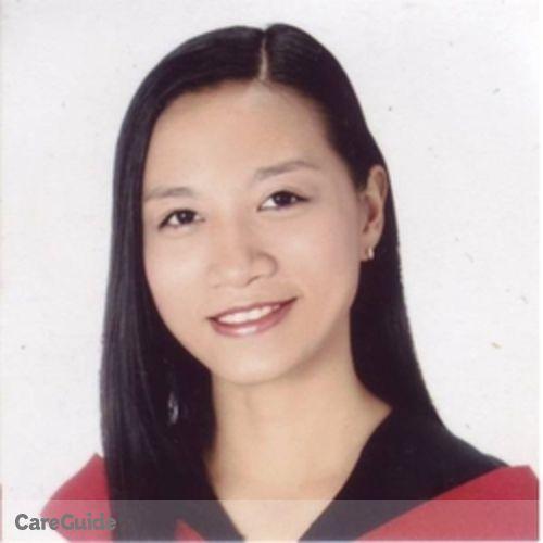 Canadian Nanny Provider Danah Amor Elvie Almojuela's Profile Picture