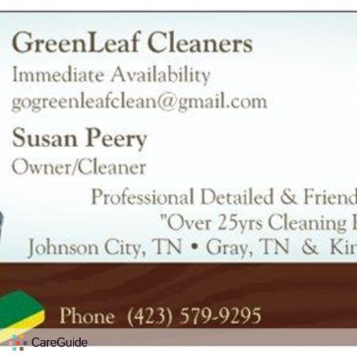 Housekeeper Provider Susan Peery's Profile Picture