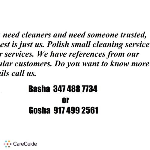 Housekeeper Provider Basha Macialek's Profile Picture