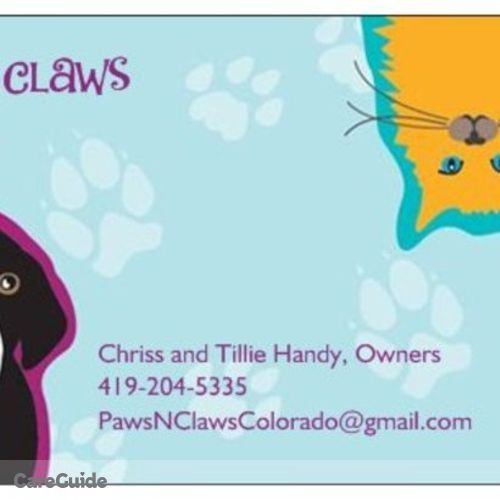Pet Care Provider Chriss and Tillie Handy's Profile Picture