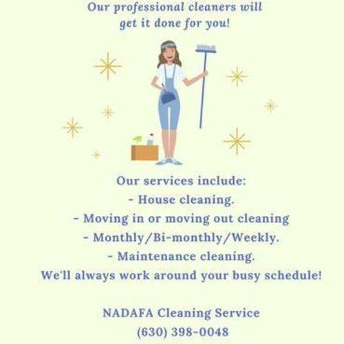 Housekeeper Job Najla A's Profile Picture