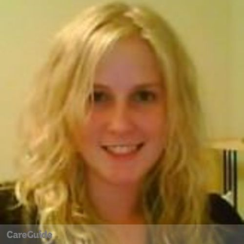 Canadian Nanny Provider Caitlin Wilkins's Profile Picture