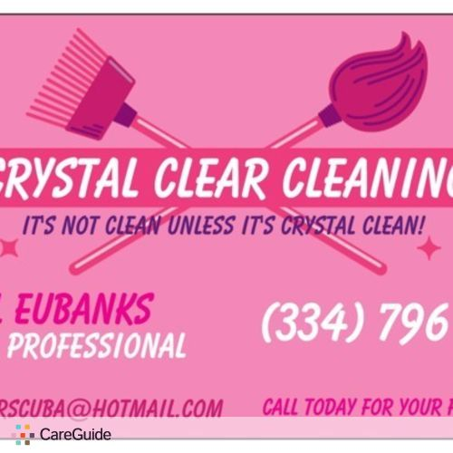 Housekeeper Provider Crystal Clear Cleaning's Profile Picture