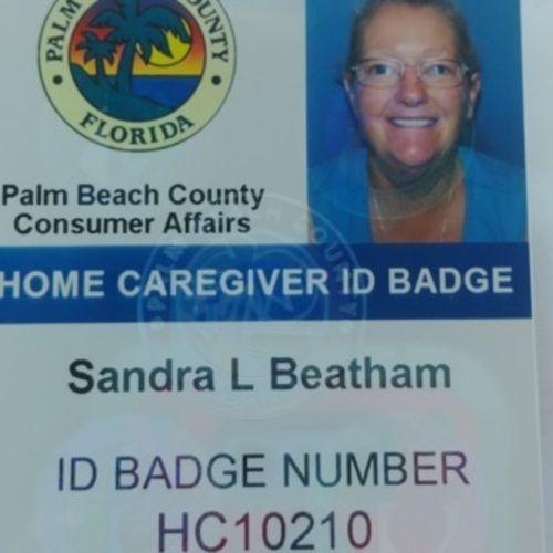 Elder Care Provider Sandy B's Profile Picture