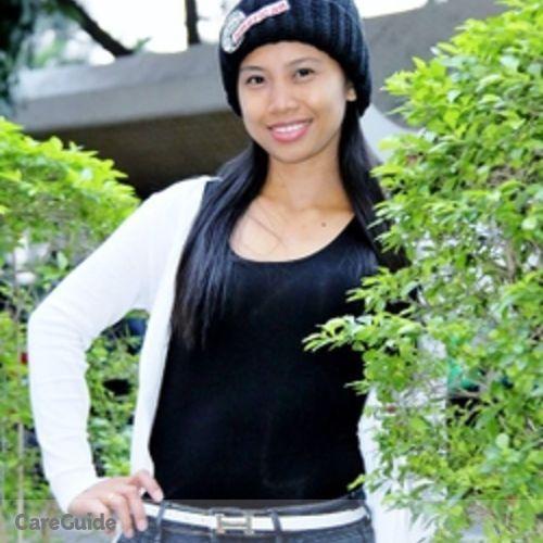 Canadian Nanny Provider Vanessa Abellera's Profile Picture