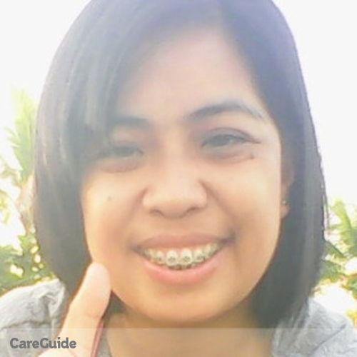 Canadian Nanny Provider Perlita G's Profile Picture