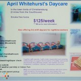 Daycare Provider in Christiansburg