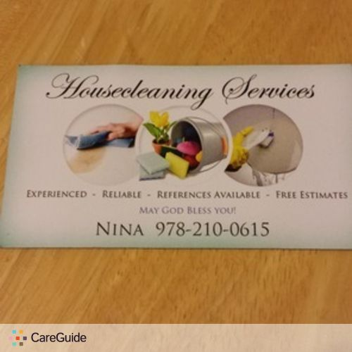Housekeeper Provider Nina Specke's Profile Picture