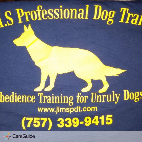 Pet Care Provider J.I.M.S Professional Dog Training 's Profile Picture