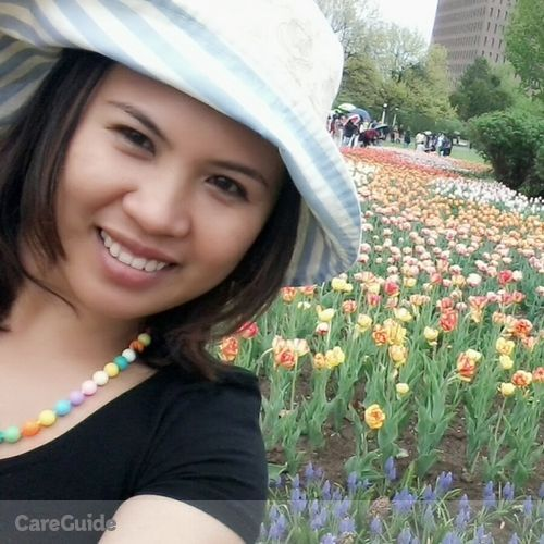 Canadian Nanny Provider Bethilyn Bayon's Profile Picture
