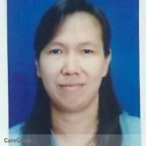 Canadian Nanny Provider Teresita Roldan's Profile Picture