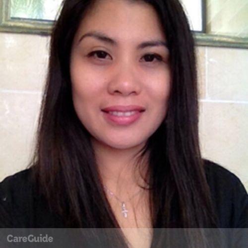 Canadian Nanny Provider Hazel Carino's Profile Picture