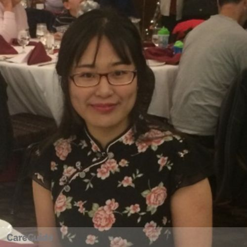Canadian Nanny Provider Wendy Cao's Profile Picture