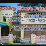 Caesar's house painting.