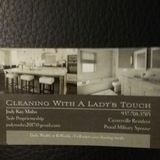 Hello my name is Jody. I have been cleaning for 20 years .I supply all cleaning supplies . You will not be disappointed.