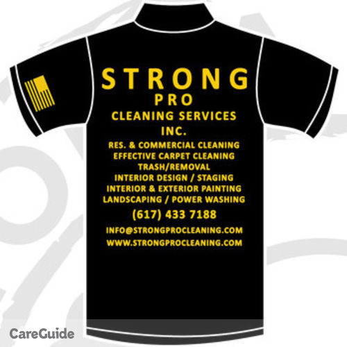 Housekeeper Job Strong Professional Cleaning Services Inc.'s Profile Picture