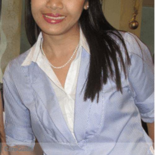 Canadian Nanny Provider Armida Aguinaldo's Profile Picture