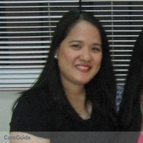 Canadian Nanny Provider Marissa Ceniza's Profile Picture